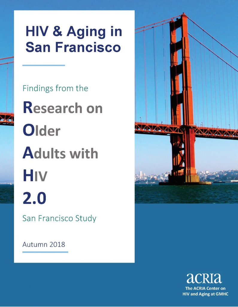 HIV and Aging in San Francisco Flyer
