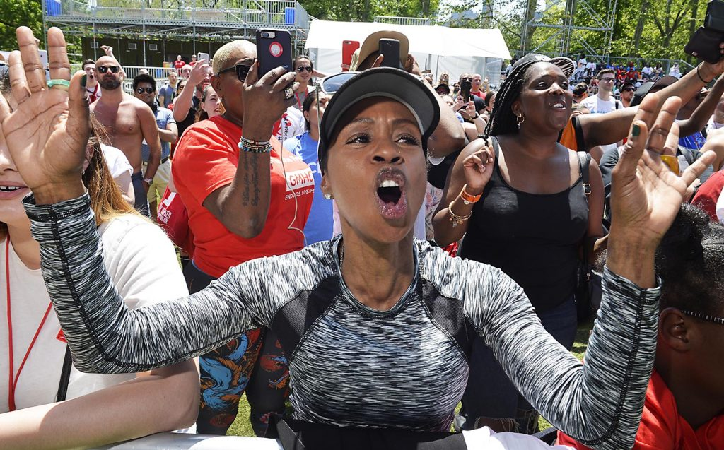 051919 GMHC 2019 AIDS Walk, held in NYC's Central Park. Photographs by Matthew McDermott-Contact# 917.653.6707.